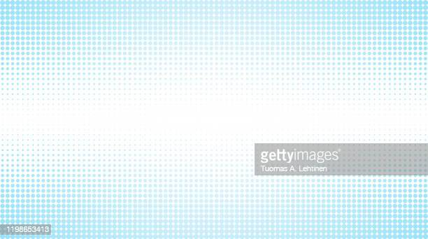 abstract light blue halftone pattern background - spotted stock pictures, royalty-free photos & images
