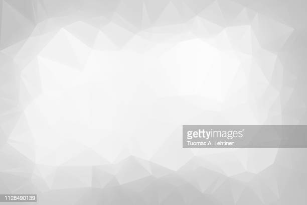 abstract light gray low poly background - grau stock-fotos und bilder