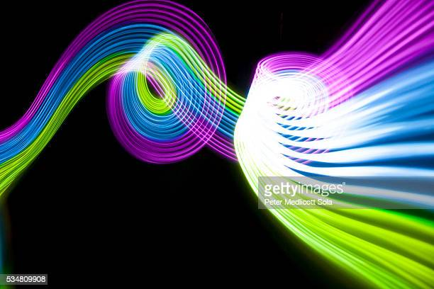 Abstract Light Painting Background 7