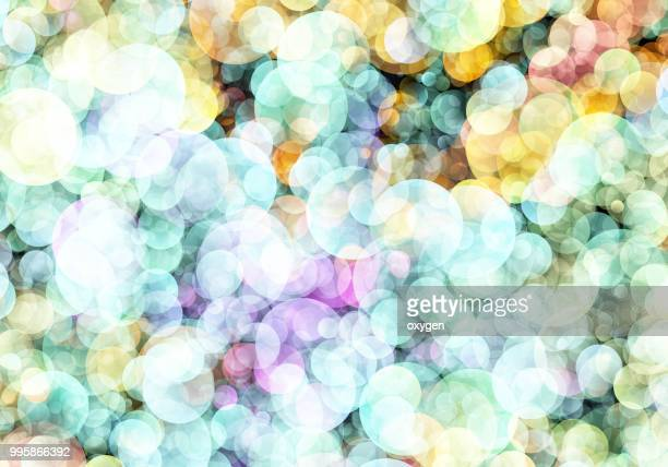 Abstract light spotted bokeh background
