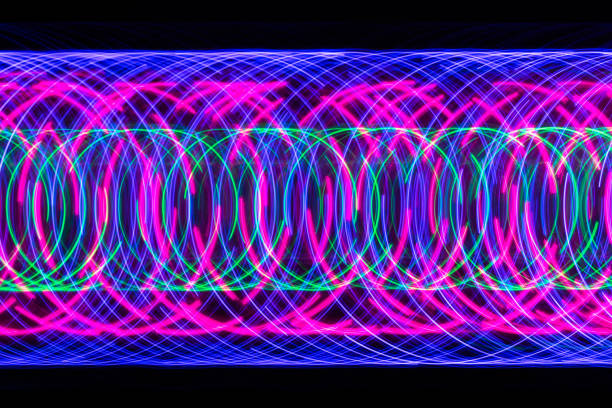 Abstract Light Trail