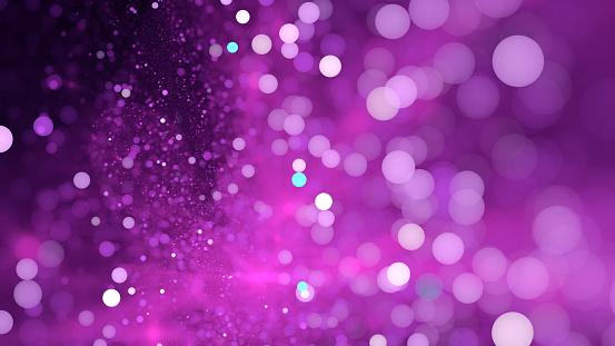 Abstract light violet bokeh sparkling spray circle - gettyimageskorea