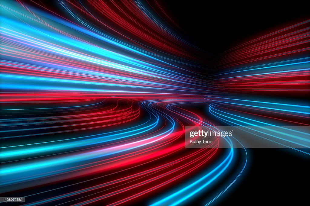 Abstract lights speed motion : Stock Photo