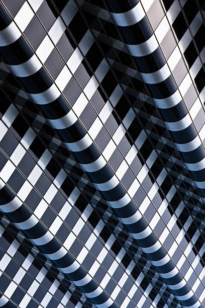 Abstract lines in buildning