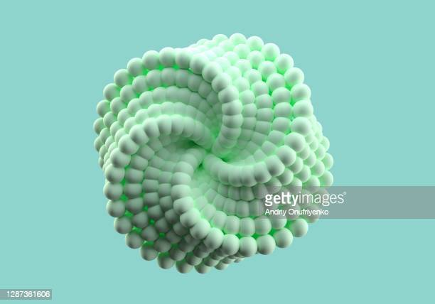 abstract looped twisted shape - ball stock pictures, royalty-free photos & images