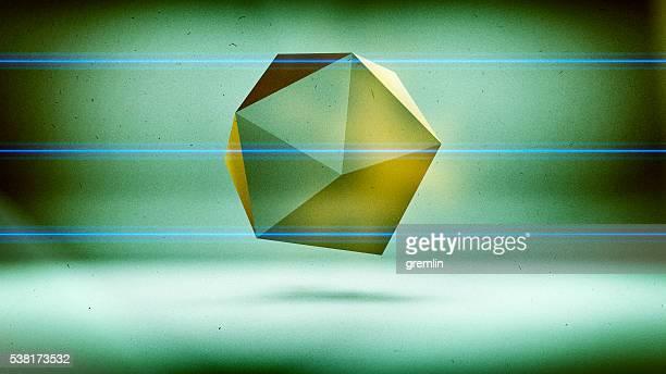 Resumen baja polygon Forma tridimensional