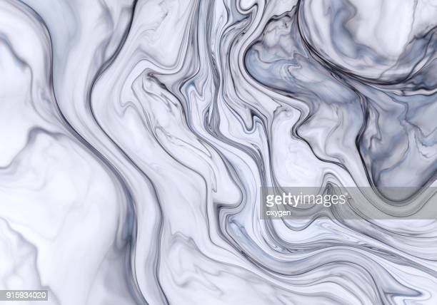 abstract marble effect painting - swirl stock photos and pictures