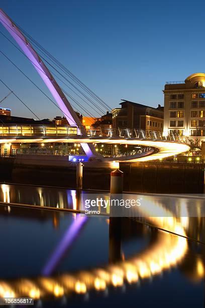 Abstract Millennium Bridge Reflections 5