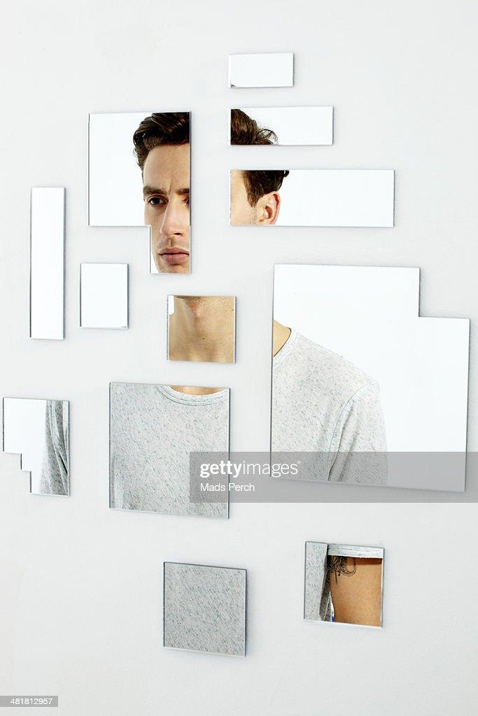 Abstract Mirror Shoot : Stock Photo
