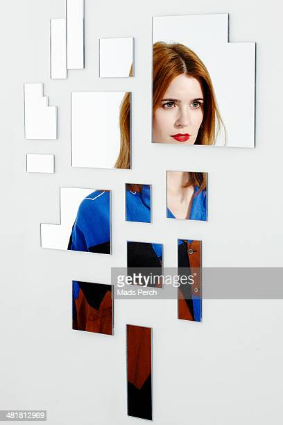 abstract mirror shoot - separation stock pictures, royalty-free photos & images