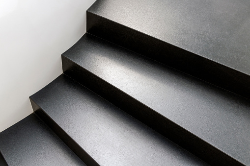 Abstract modern stairs - gettyimageskorea