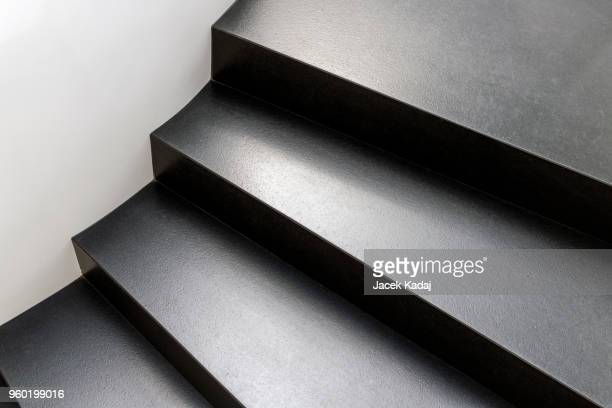 Abstract modern stairs