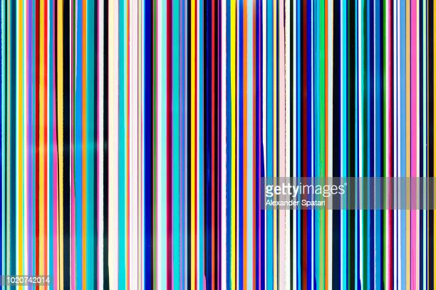 abstract multicolored background with multiple colorful stripes - gestreift stock-fotos und bilder