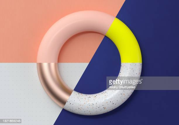 abstract multicolored circular chart - infographics stock pictures, royalty-free photos & images