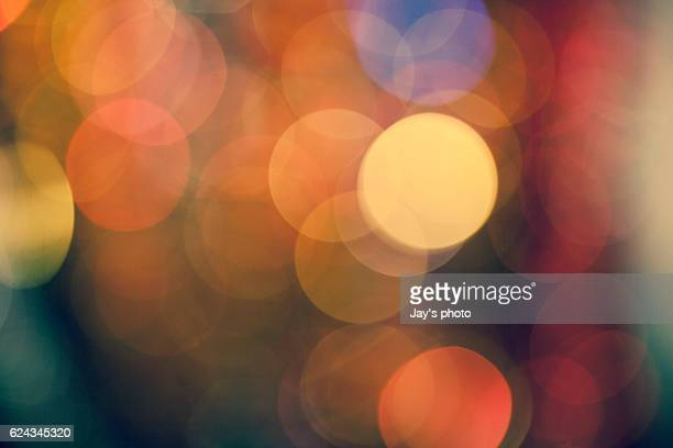 abstract multicolored glowing lights - feriado evento - fotografias e filmes do acervo