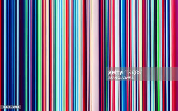 abstract multicoloured stripes - fun background stock pictures, royalty-free photos & images