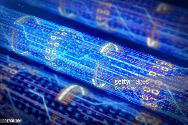 abstract network fiber optics connection - data stock pictures, royalty-free photos & images