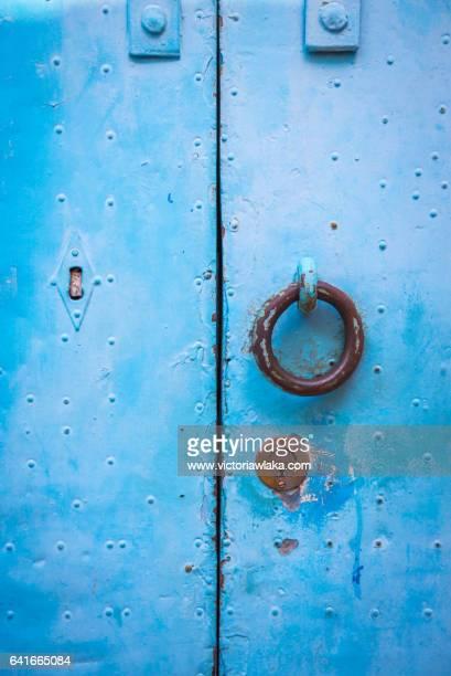 Abstract of a Santorin Door