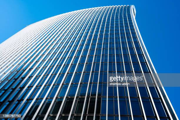 abstract of a tall modern buildings - europe stock pictures, royalty-free photos & images