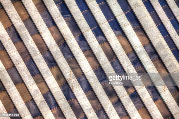 Abstract of an office building, exterior