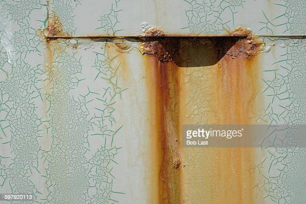 abstract of texture and rust - rust colored - fotografias e filmes do acervo
