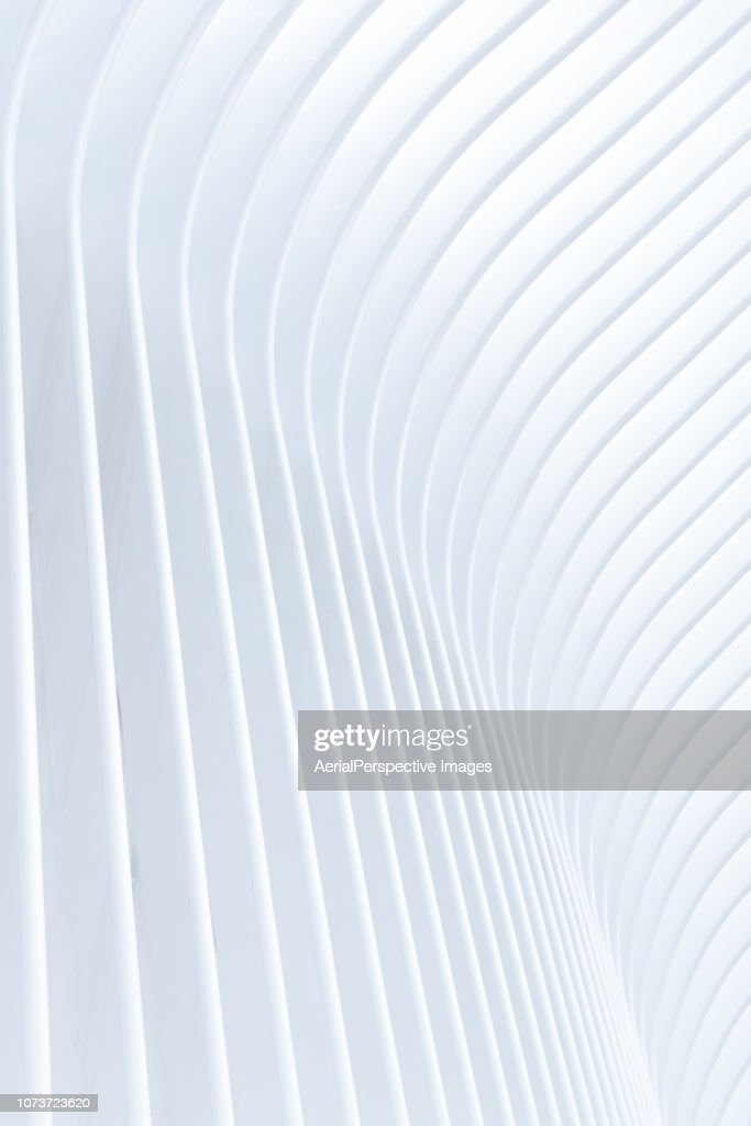 Abstract of White Architectural Pattern : Stock Photo