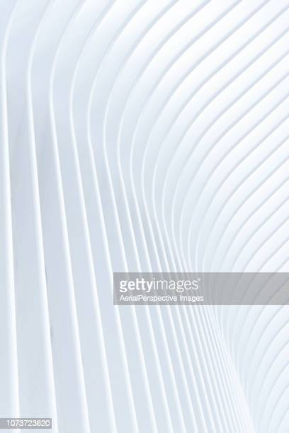 Abstract of White Architectural Pattern