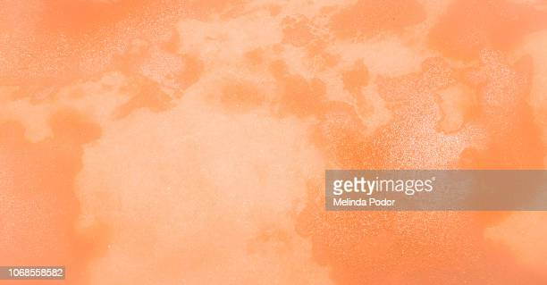 abstract orange and peach pattern - peach colour stock pictures, royalty-free photos & images