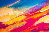 Abstract Painted Art Background