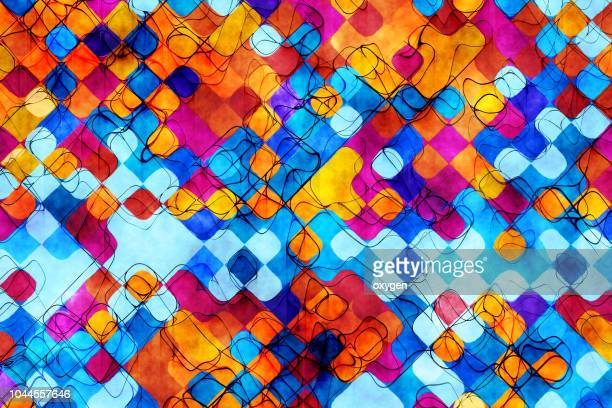 Abstract painted colored art backgrounds
