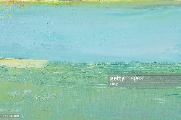 abstract painted green art backgrounds. - colour block stock pictures, royalty-free photos & images