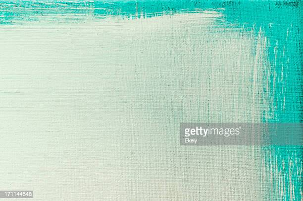 fundo abstrato arte pintada de verde. - pintura a óleo imagem pintada - fotografias e filmes do acervo
