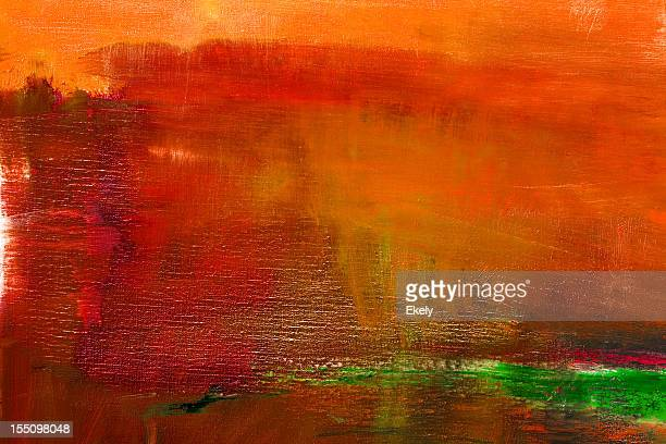 Abstract painted red art backgrounds.