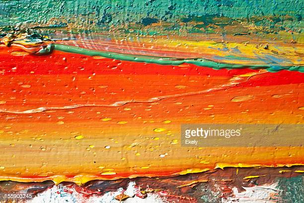 abstract painted red art backgrounds. - tempera painting stock pictures, royalty-free photos & images
