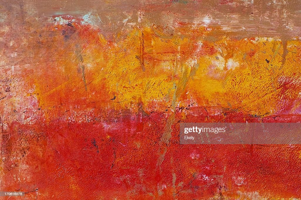 Abstract painted red art backgrounds. : Stock Photo
