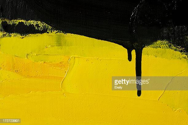 abstract painted yellow art backgrounds. - yellow stock pictures, royalty-free photos & images