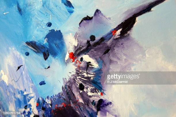 abstract painting - arte foto e immagini stock