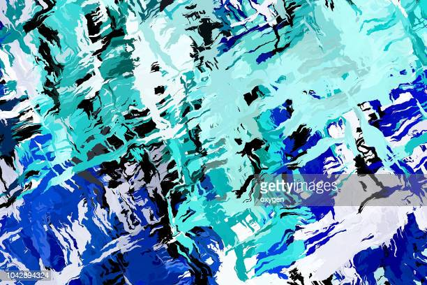abstract painting template - impressionism stock photos and pictures