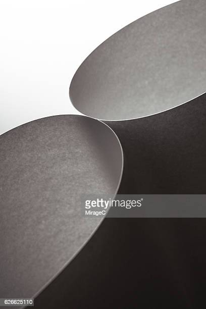 abstract paper monochrome - miragec stock pictures, royalty-free photos & images