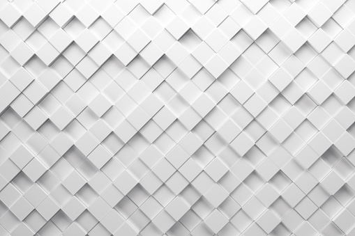 Abstract paper square 3d-render background. 930692604