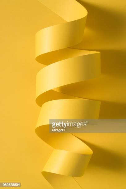Abstract Paper Stripe Coil