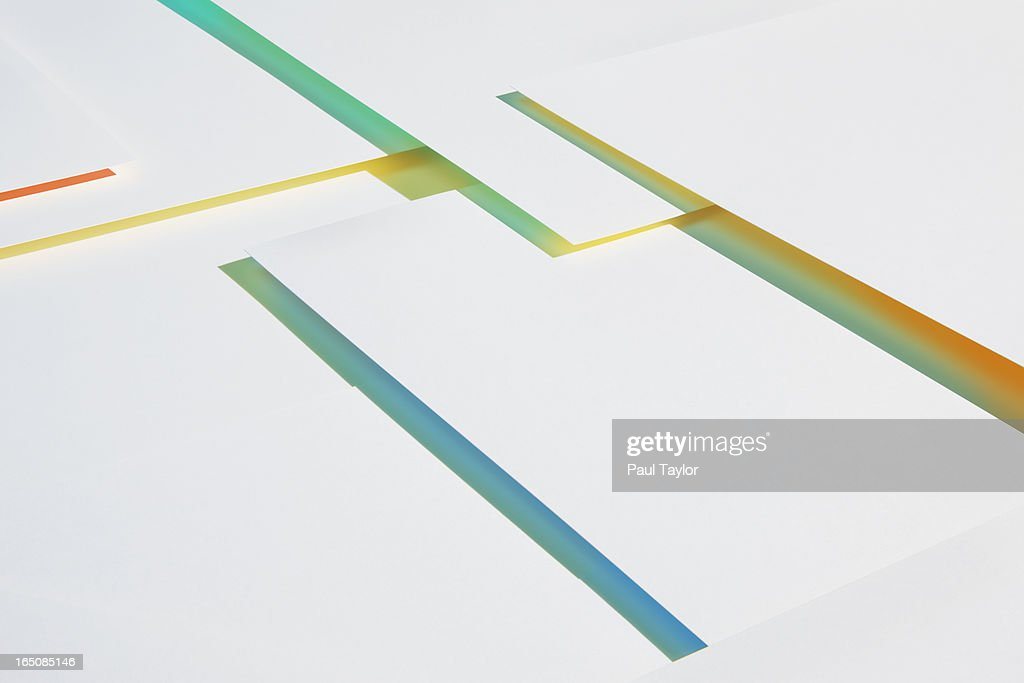 Abstract Paper Structures : Stock Photo