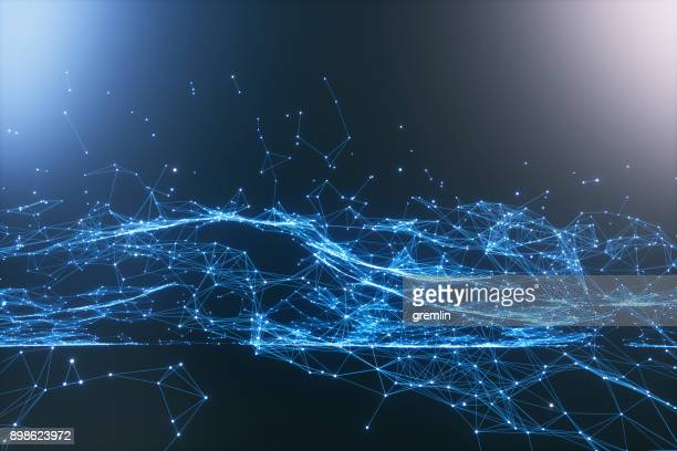 abstract particle background - internet foto e immagini stock