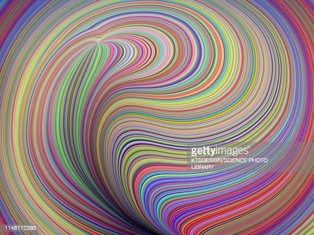 abstract pattern, illustration - geometriestunde stock-fotos und bilder