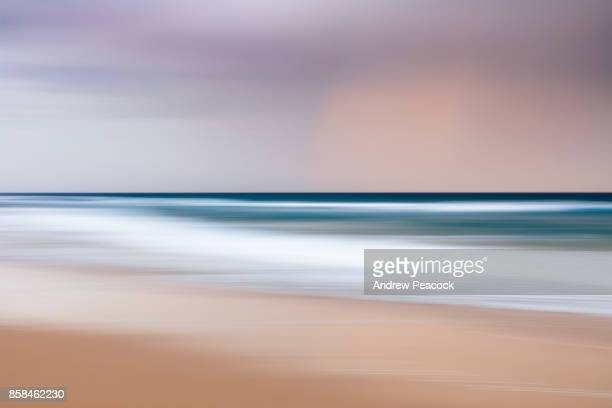 abstract patterns and color at the beach. - colorful sunset stock photos and pictures