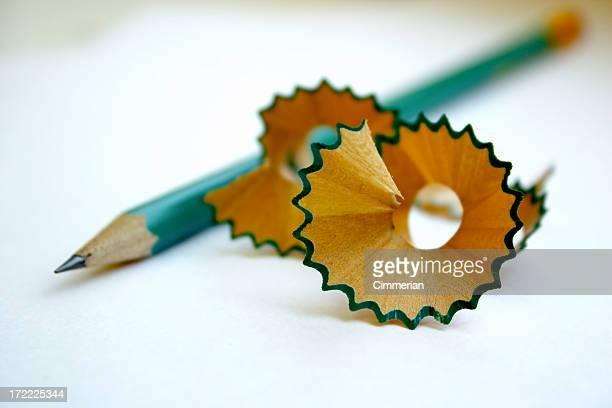 Abstract pencil shavings - 5