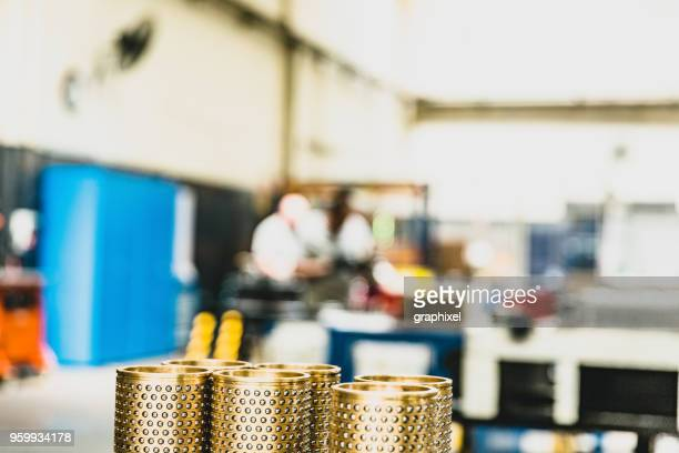 Abstract Photograph of Metal Machinery Parts