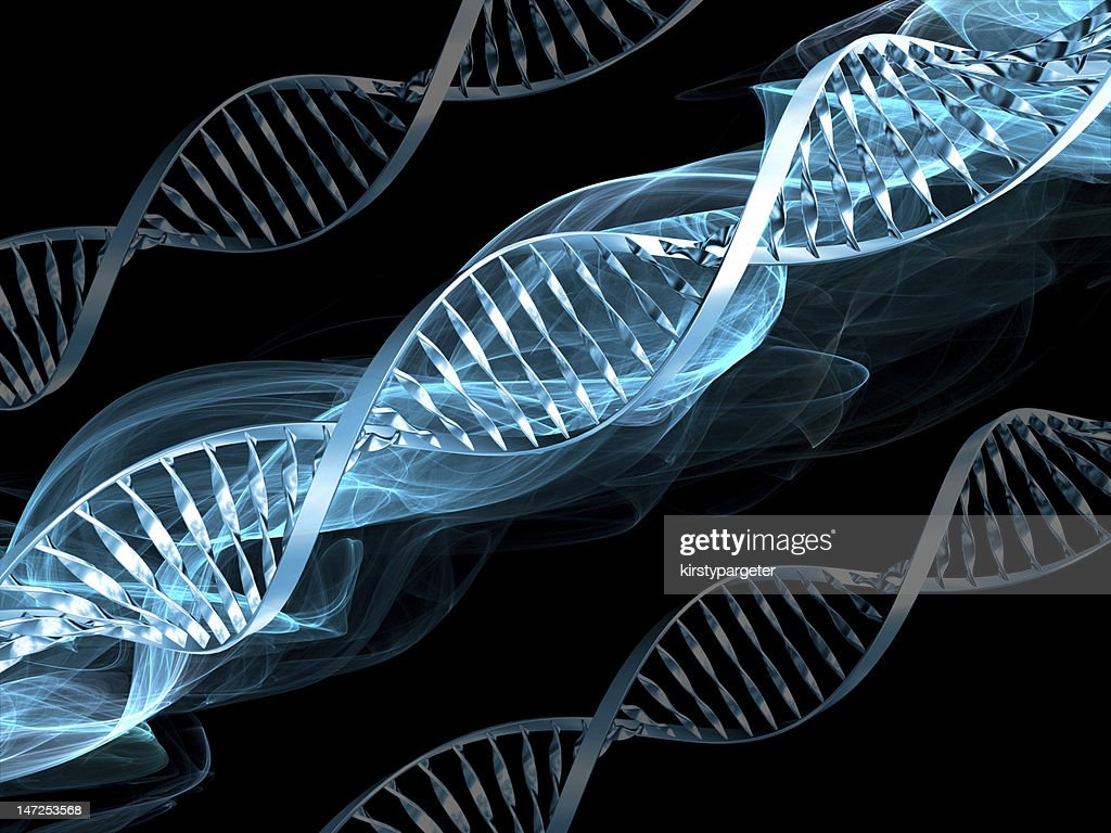 DNA abstract : Stock Photo