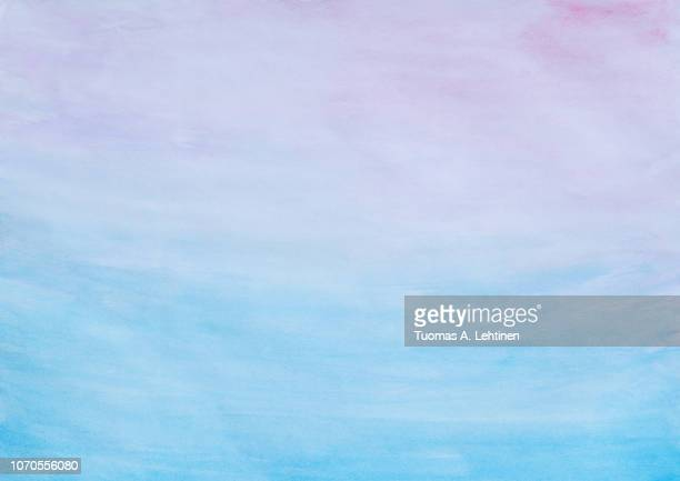 abstract pink and blue watercolor background - pink and blue background stock pictures, royalty-free photos & images