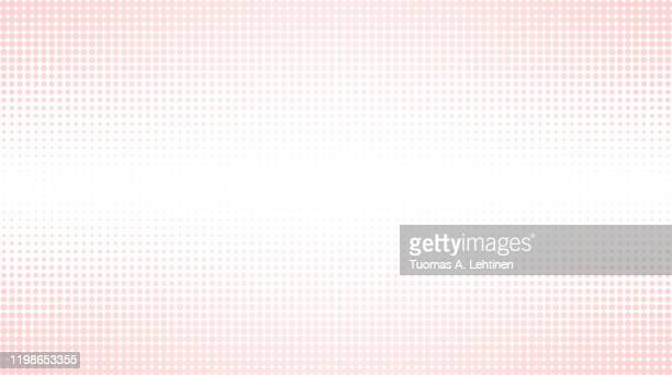 abstract pink halftone pattern background - spotted ストックフォトと画像